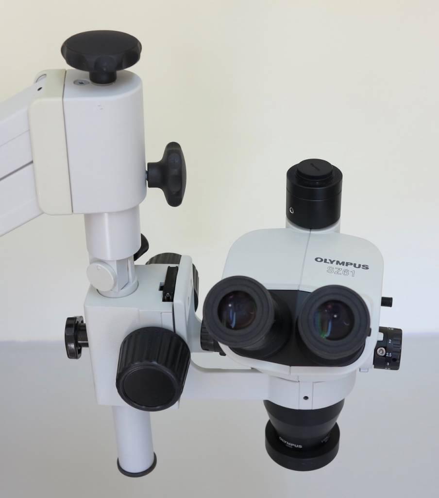Olympus Used Olympus SZ61R trinocular Stereo Microscope