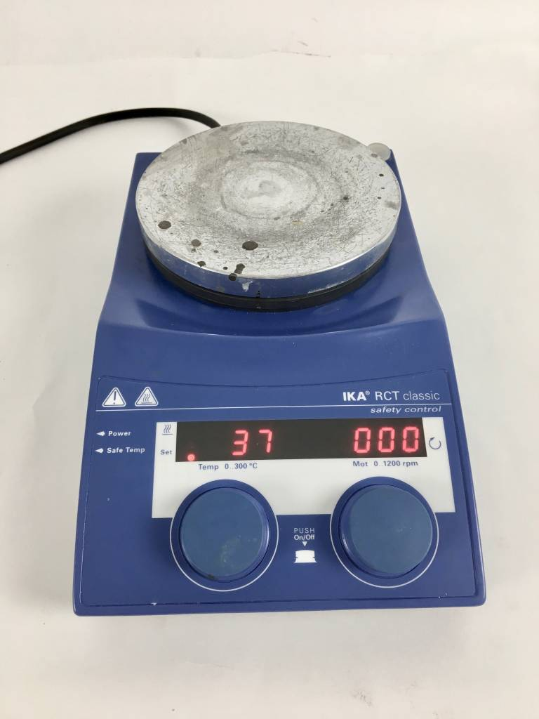IKA Gebrauchter IKA RCT classic satefy control Magnetrührer mit Heizung