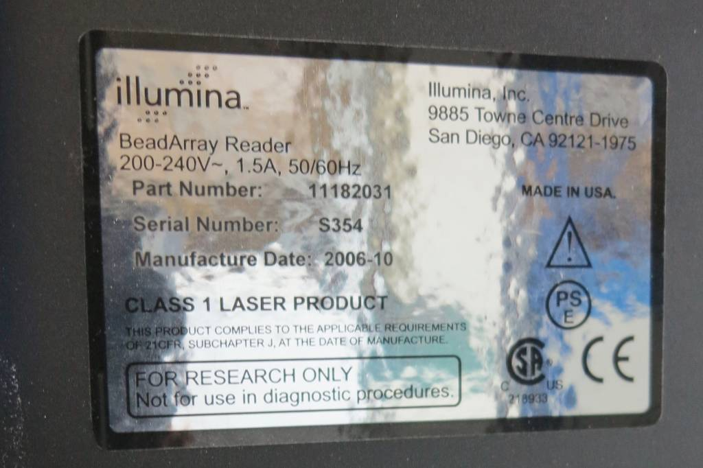 illumina Illumina BeadArray Reader