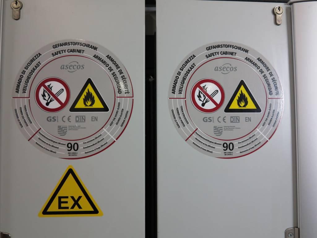 Aescos Gefahrstoffschrank Asecos