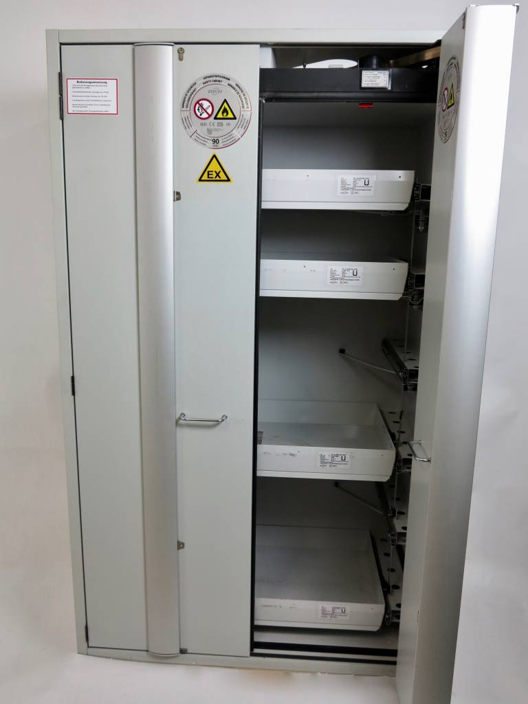 Aescos Asecos Safets Storage Cabinet