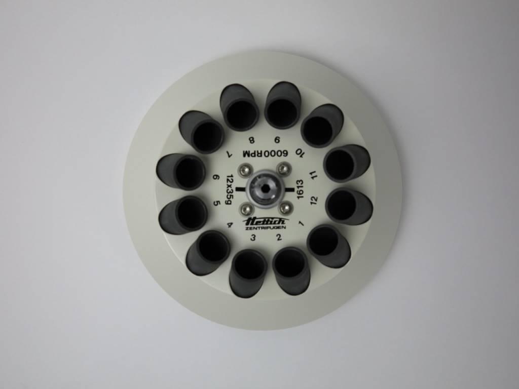 Hettich Lab Technology Hettich 1613 Winkelrotor 12-fach für Tischzentrifuge