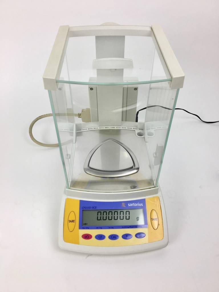 Sartorius Sartorius Analytical Balance CP225D-OCE (0,01 mg)