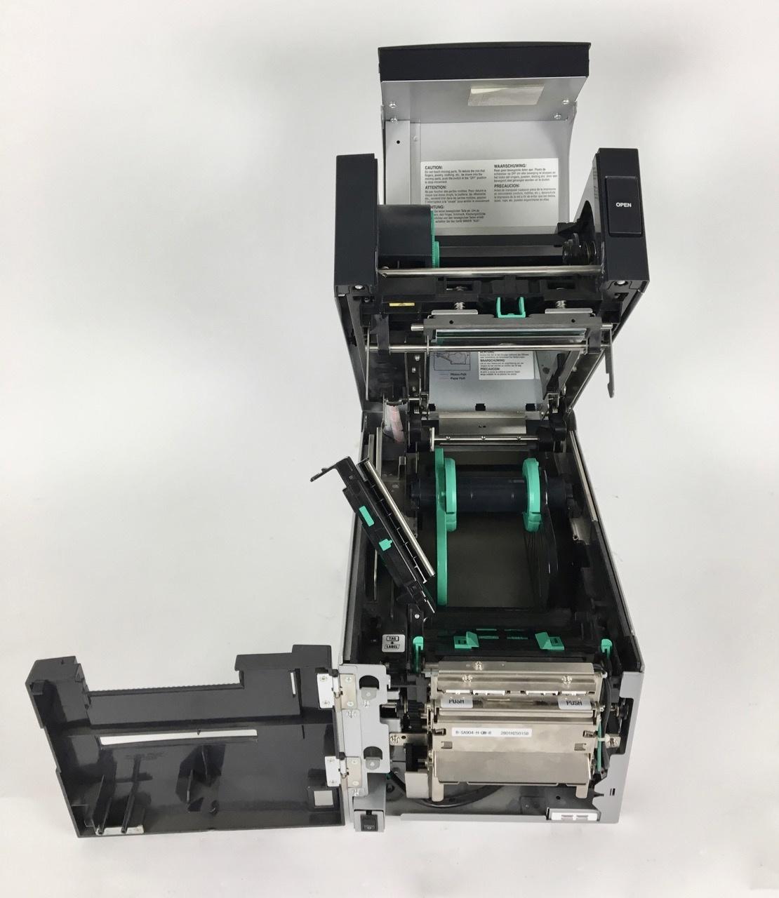 Toshiba Gebrauchter Toshiba B-SA4TM-TS12-QM-R Etiketten-/ Thermodrucker  (300 dpi)