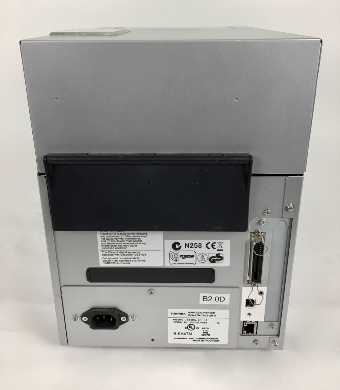 Toshiba Refurbished Toshiba B-SA4TM GS12/TS12 label/ thermal printer  (300 dpi)