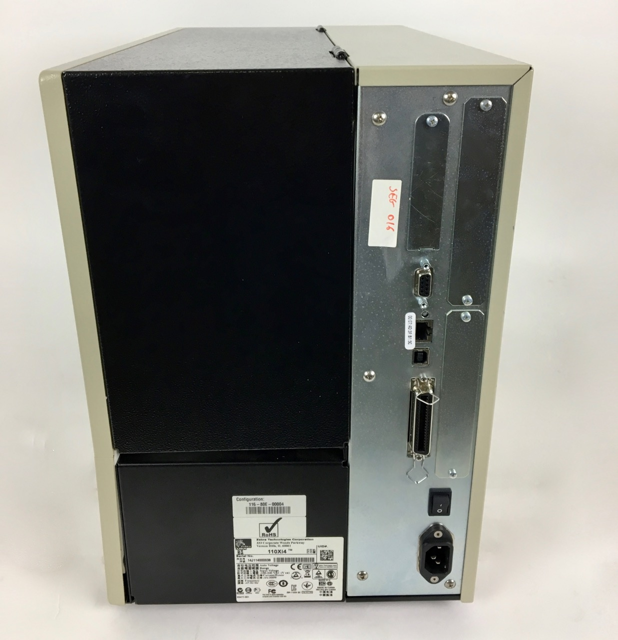 Zebra Gebrauchter 110Xi4 Zebra Etiketten-/ Thermodrucker  (600 dpi)