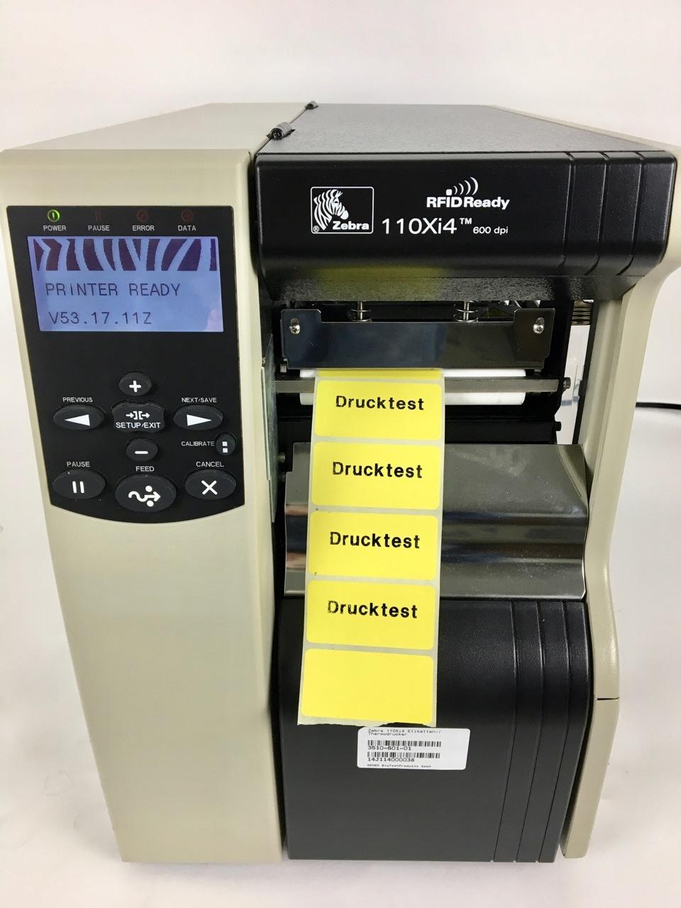 Zebra Refurbished Zebra 110Xi4 label/ thermal printer  (600 dpi)