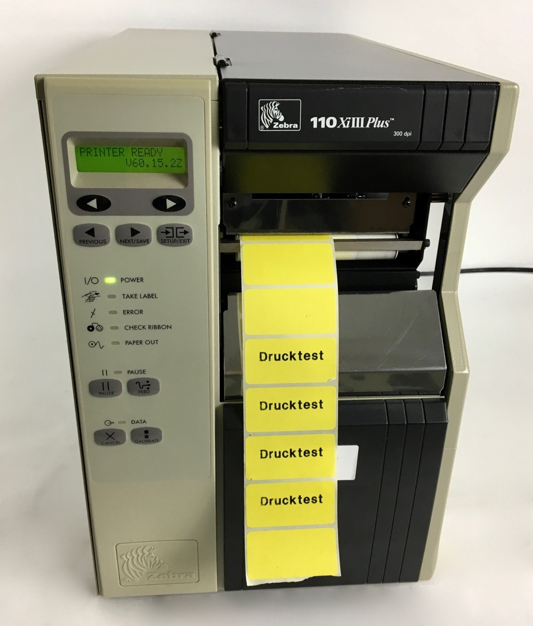 Zebra Zebra 110XiIII Plus label/ thermal printer (300 dpi)
