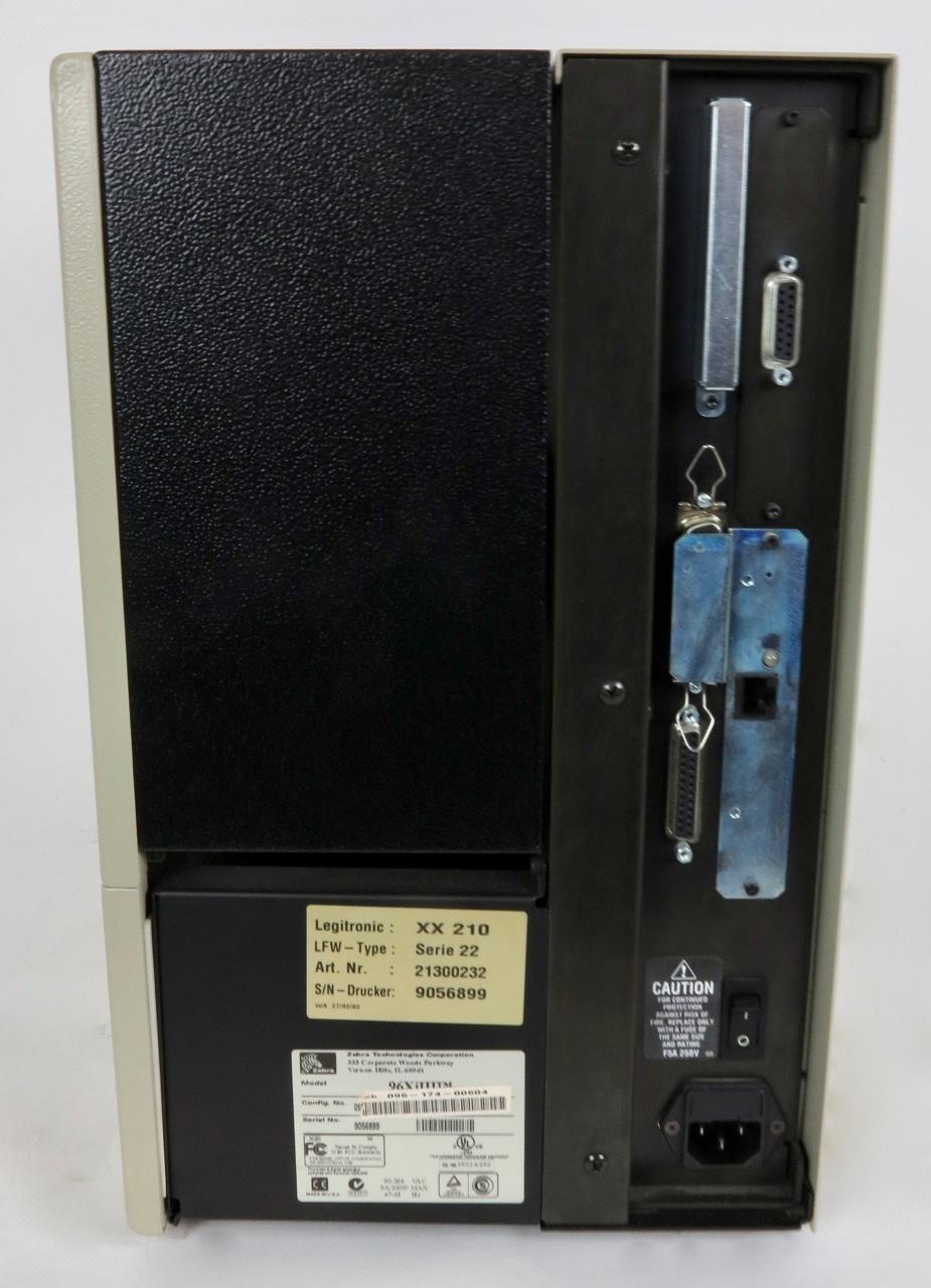 Zebra Zebra 96XiIII Etiketten-/ Thermodrucker (600 dpi)