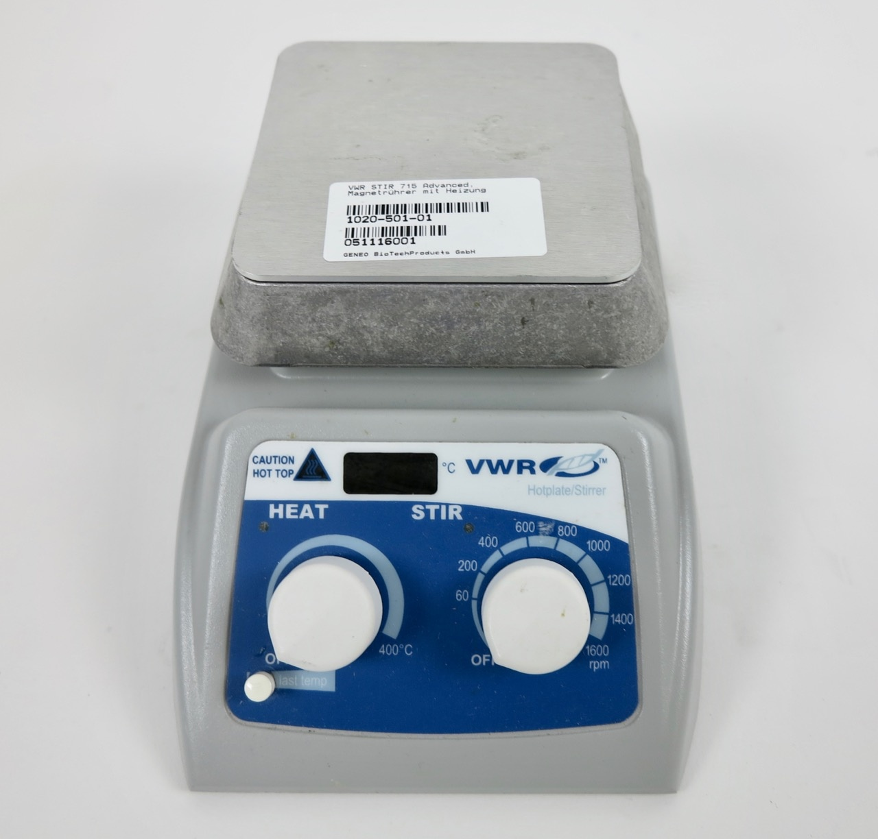 VWR VWR Advanced Hot Plate Stirrer magnetic stirrer