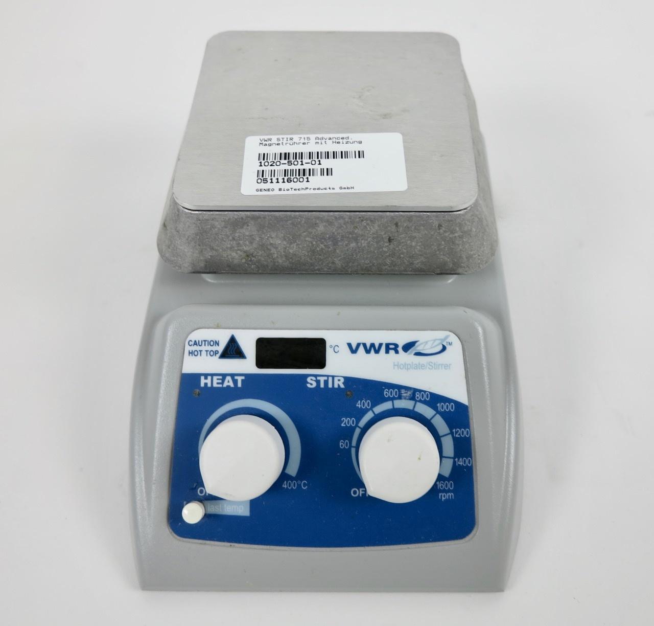 VWR VWR Advanced Hot Plate Stirrer Magnetrührer