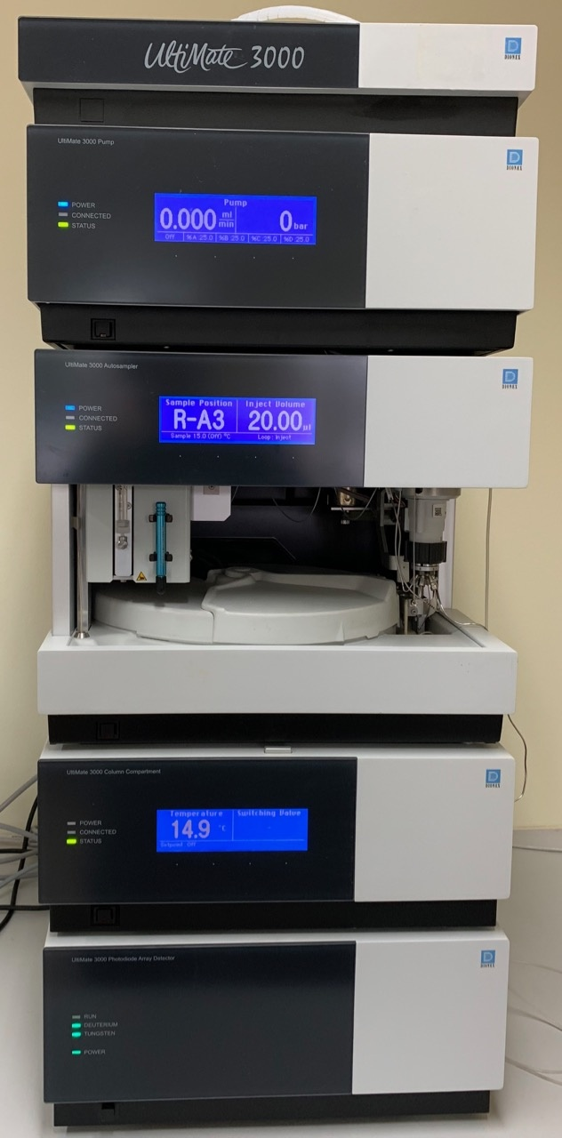 Thermo Dionex Thermo Dionex Ultimate 3000 HPLC System w/ LPG-3400 Pump