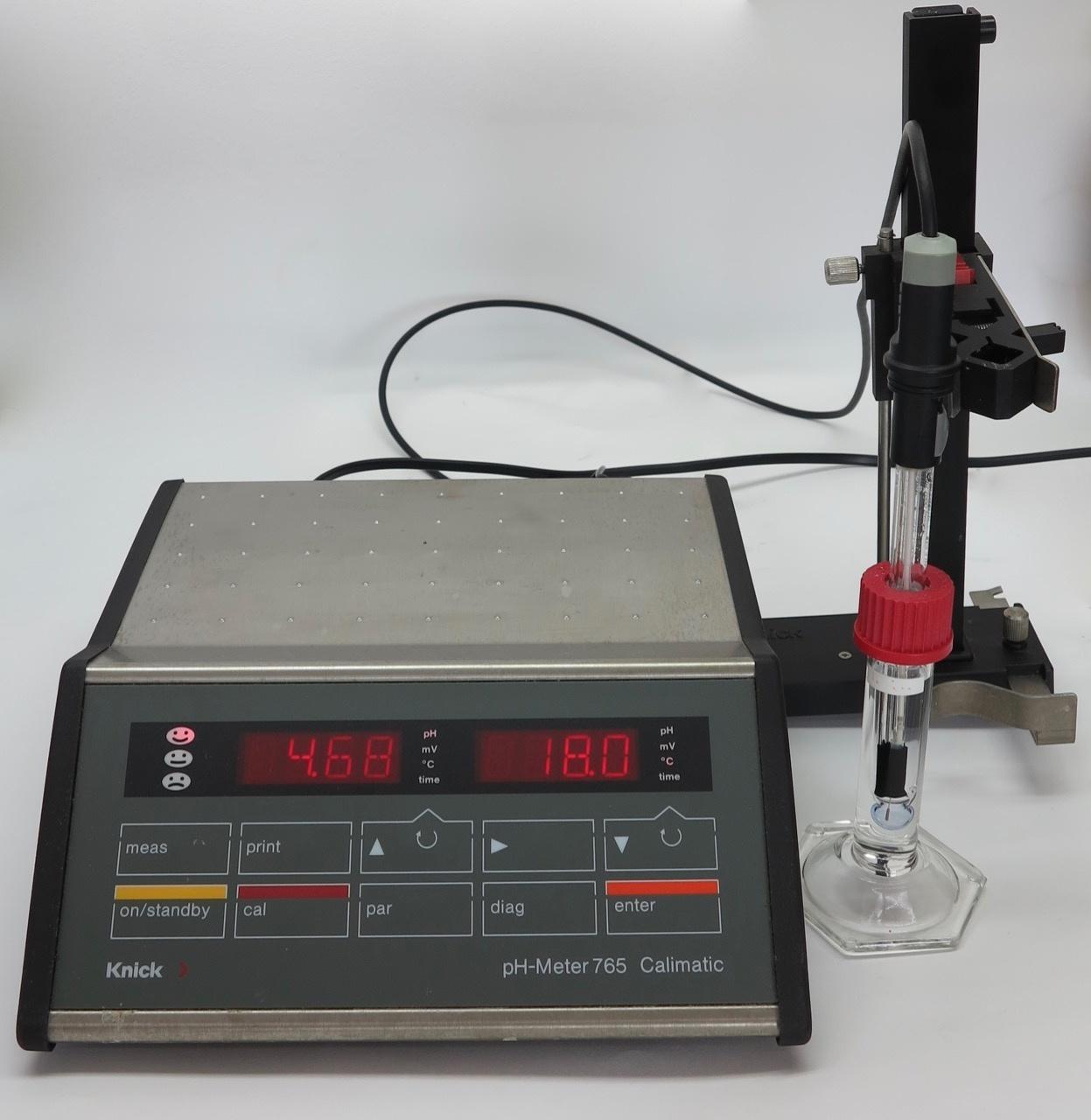 Knick Knick Labor-pH-Meter 765