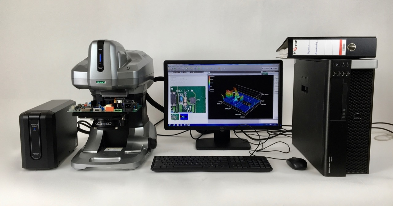 Keyence Keyence VR-3100 3D-Profilometer