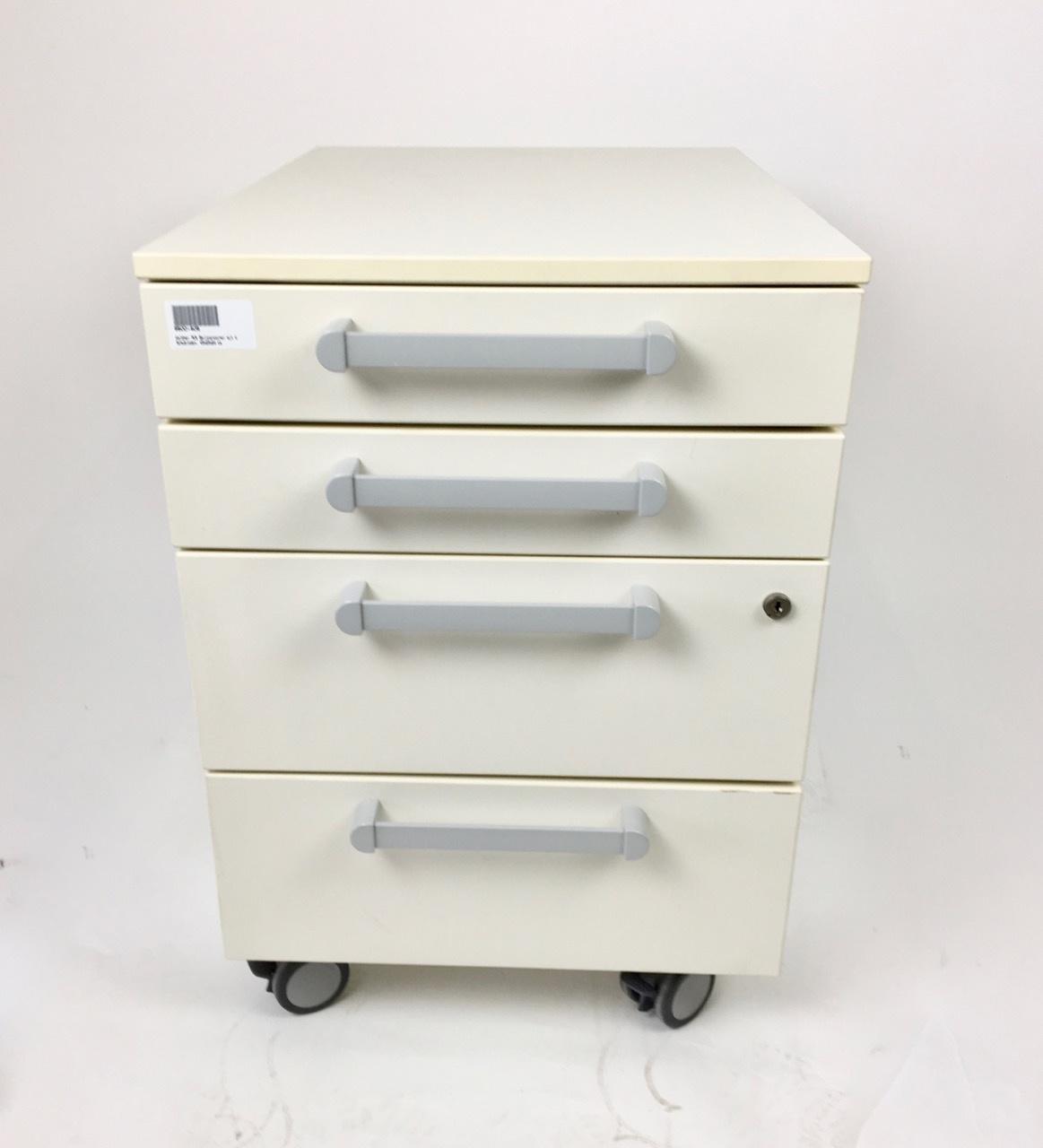 Waldner Waldner MC6 Rollcontainer, 4 drawers, 45 cm breit, 64cm hoch
