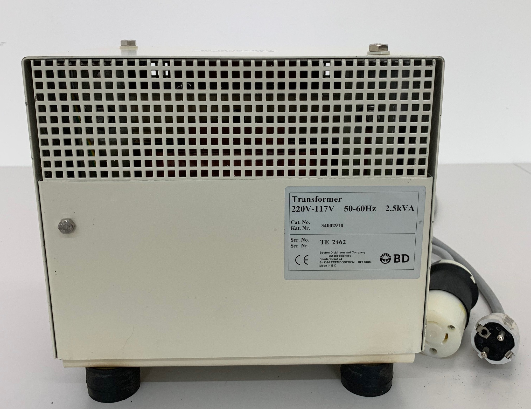 BD BD FACSCalibur Transformer 220V-117V 50-60Hz