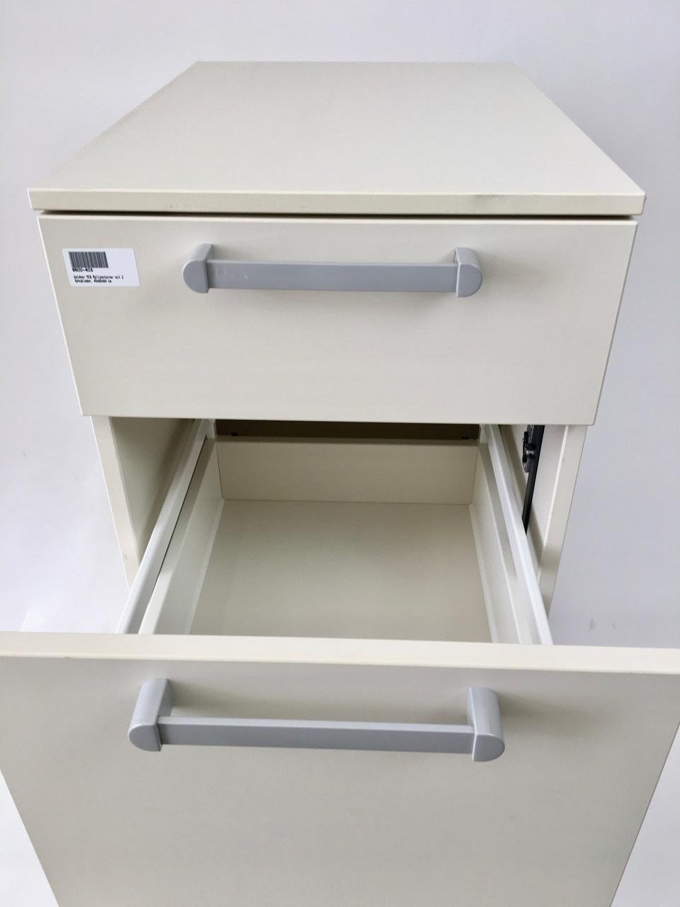 Waldner Waldner MC6 mobile cabinet, 2 drawers, 45 cm width, 64cm height
