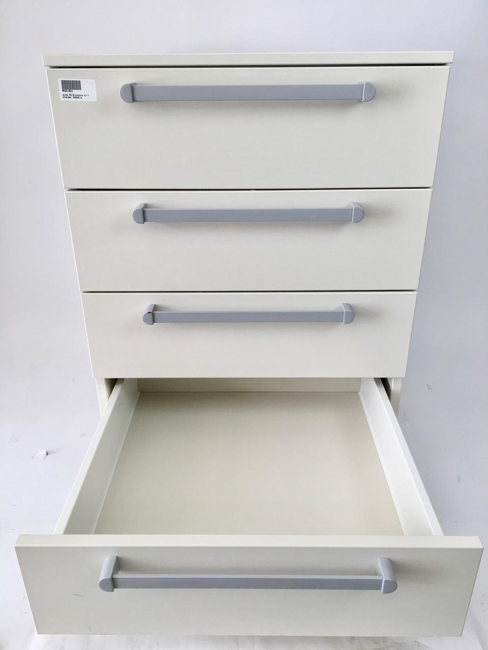 Waldner Waldner MC6 Rollschrank, 4 Schubladen, 60 cm breit, 82cm hoch