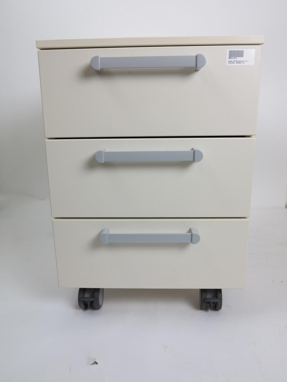 Waldner Waldner MC6 Rollschrank, 3 Schubladen, 45 cm breit, 55cm hoch