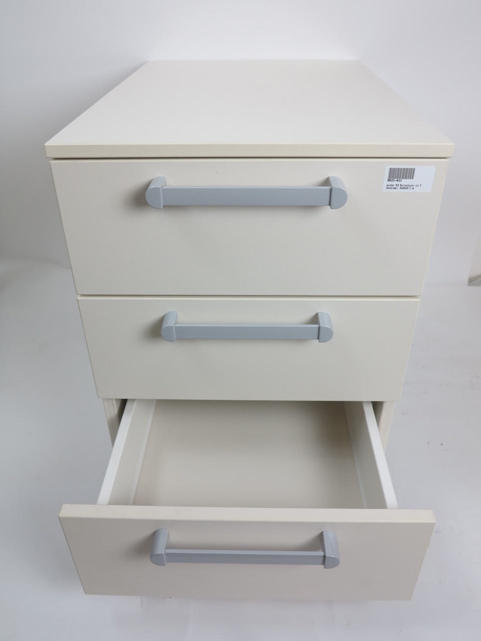 Waldner Waldner MC6 mobile cabinet, 3 drawers, 45 cm width, 55cm height