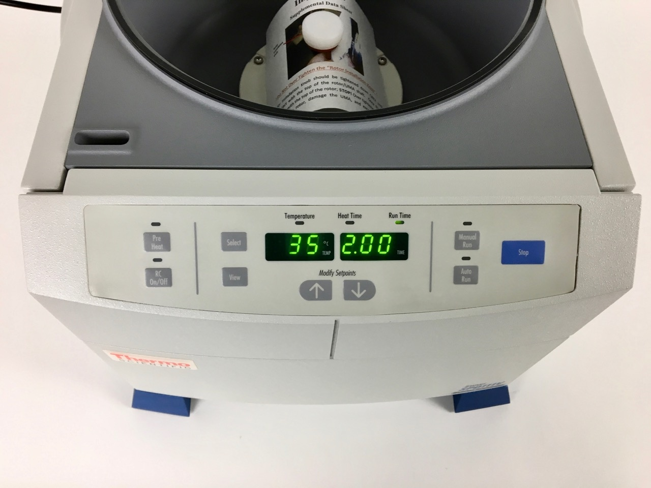 Thermo Scientific Thermo SPD111V SpeedVac concentrator with glass lid