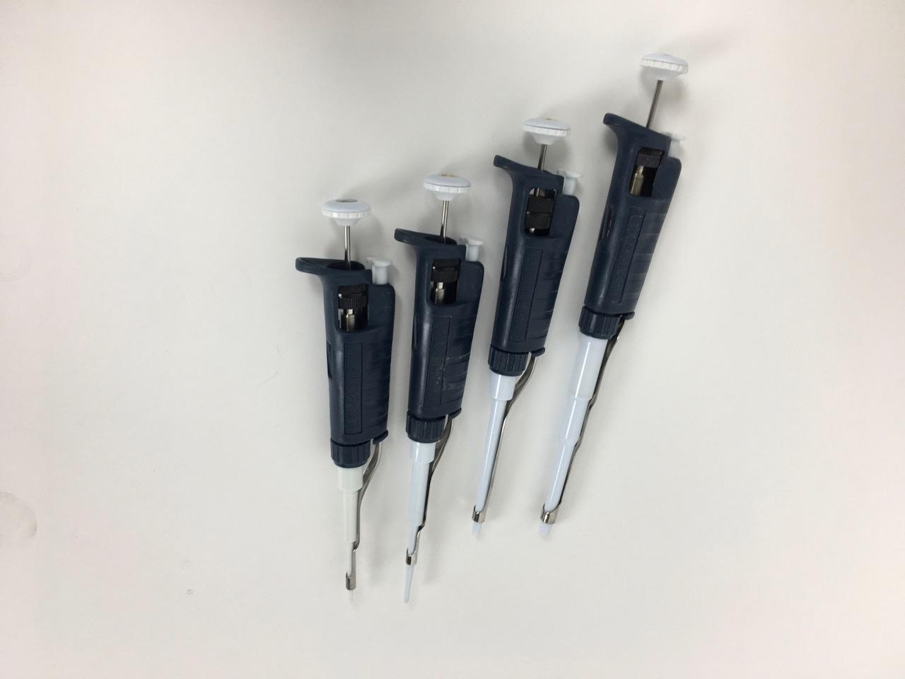 Gilson Gebrauchter Gilson Pipetman Pipettensatz (4 Stk., 0,2 - 1000 µl)