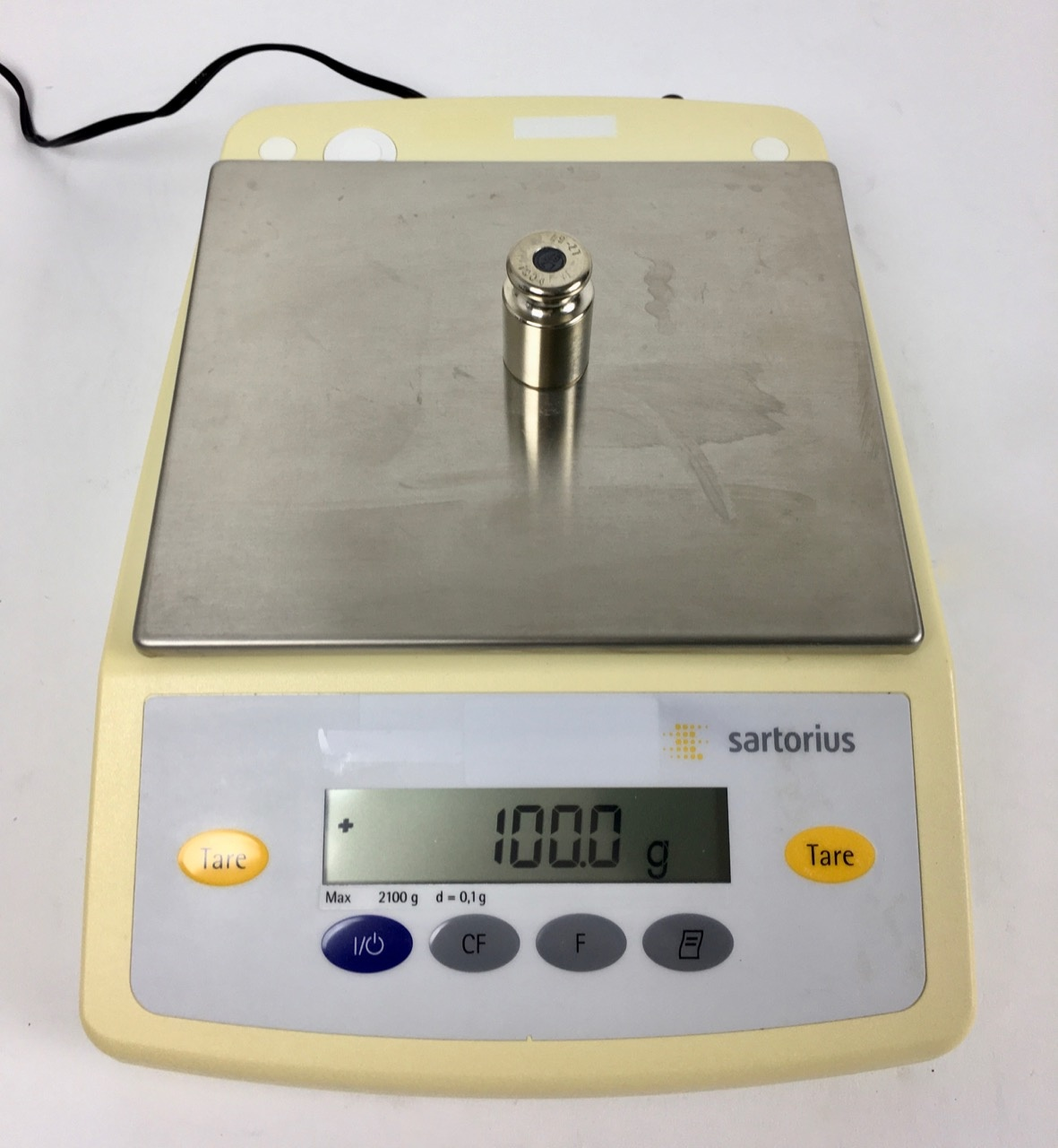Sartorius Sartorius TE2101 Präzisionswaage (max. 2100 g/ Auflösung 0,1g)
