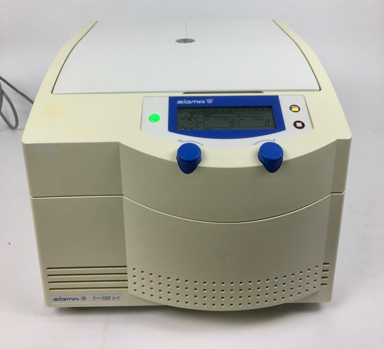 Sigma Sigma 1-15K Microcentrifuge (refrigerated)