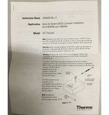 Thermo Scientific Thermo TSE400V ultra-low freezer with CO2 emergency cooling