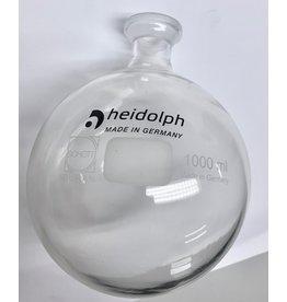 Heidolph Coated receiving flask 1,000 ml (like new)