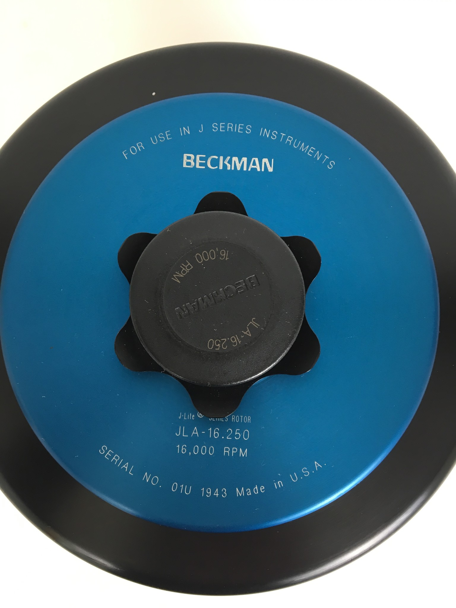 Beckman Beckman Rotor JLA-16.250