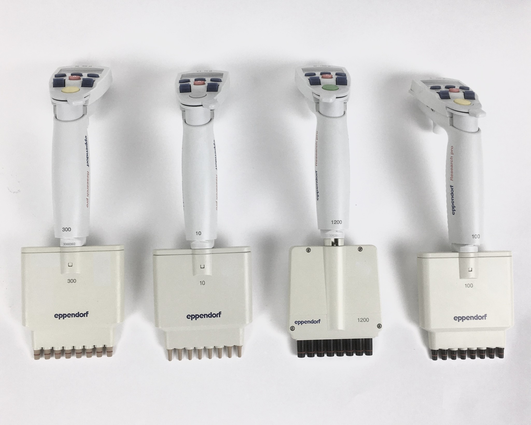 Eppendorf Eppendorf Research Pro electr. 8-Channel Pipettes - Set