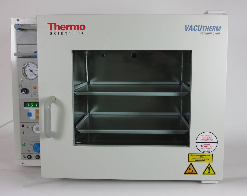 Thermo VACUtherm VT 6060 M-BL Vacuum Heating and Drying Oven for flammable liquids