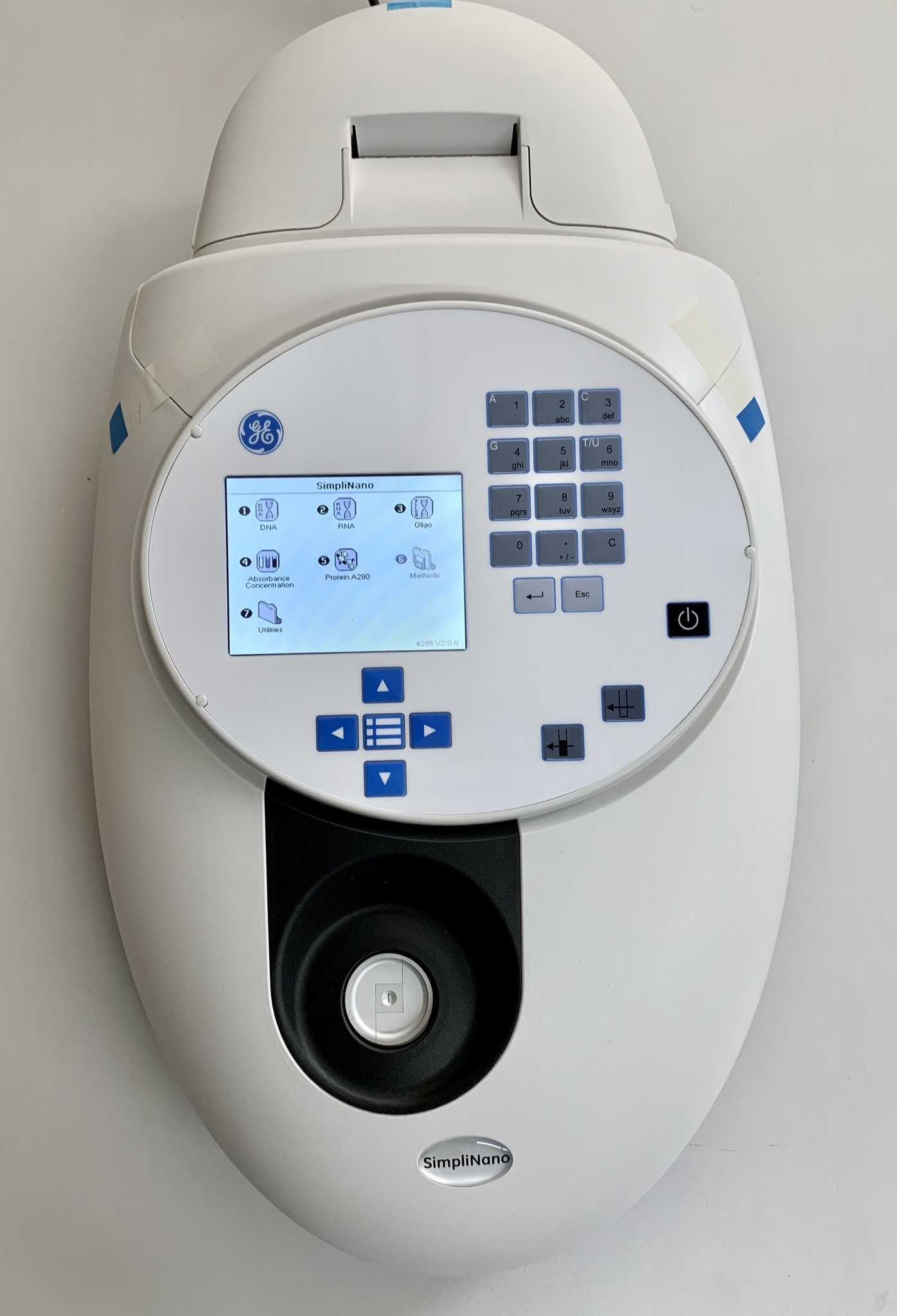Ge Healthcare SimpliNano Spectrophotometer