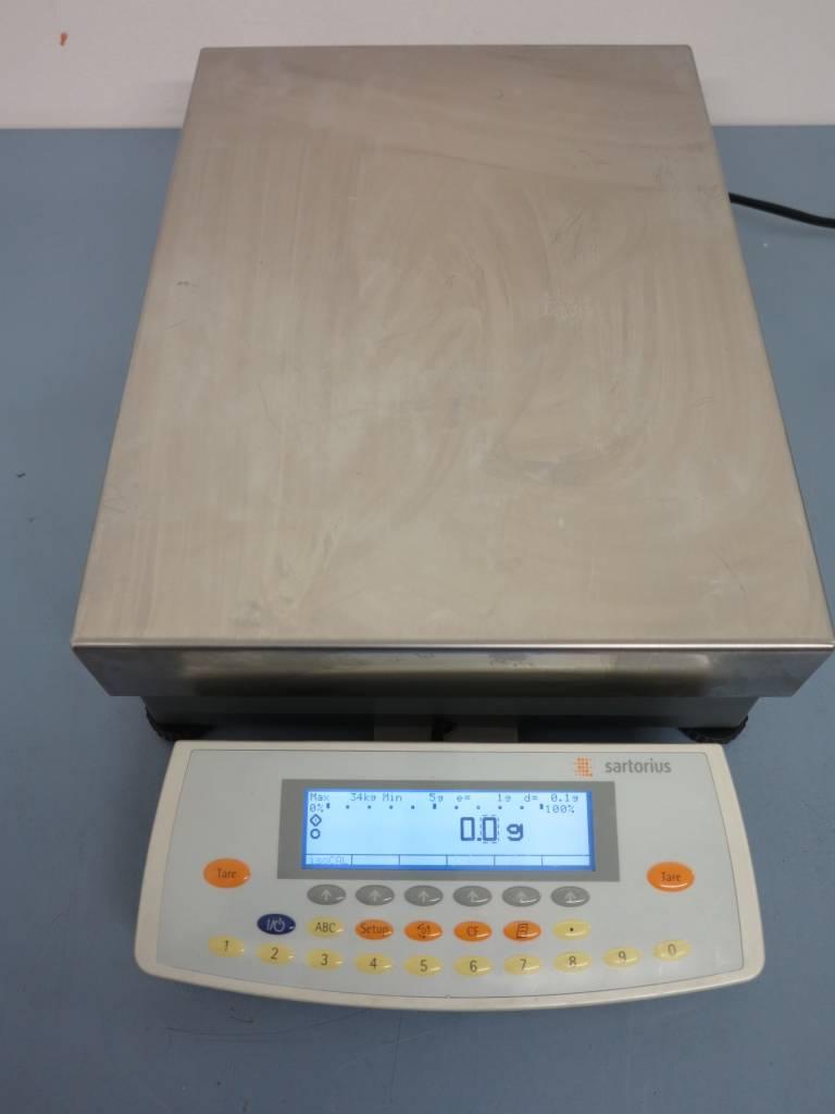 Sartorius Refurbished Sartorius LA34001S-OCE Precision Balance (Max. 34 kg, d=0,1 g)