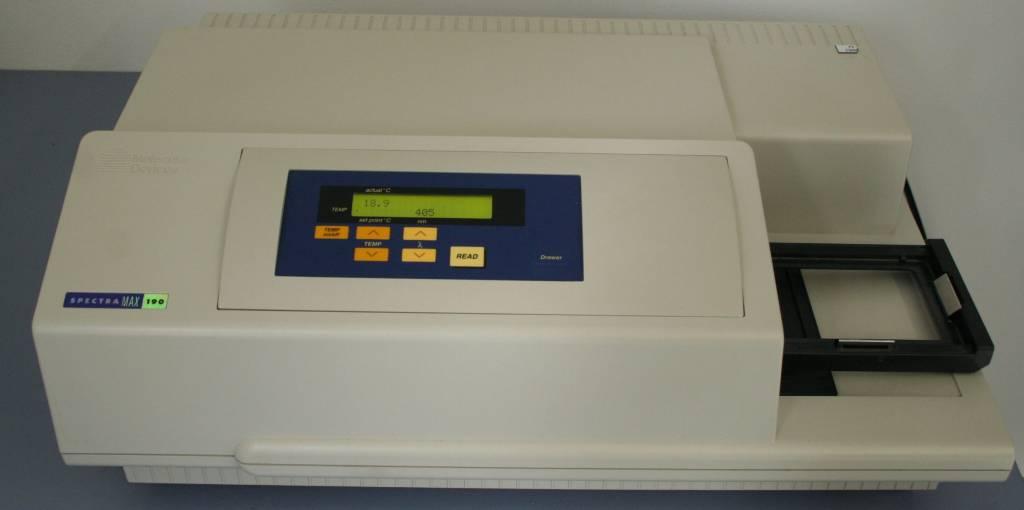 Molecular Devices Molecular Devices Spectramax 190 (Scanning UV-VIS Photometer)