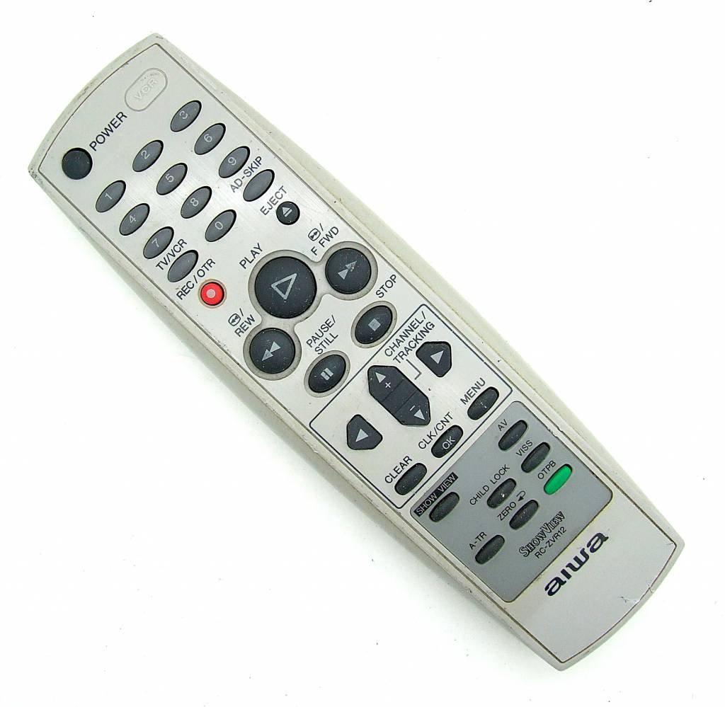 Aiwa Original Aiwa Fernbedienung Show View für Videorekorder RC-ZVR12 remote control