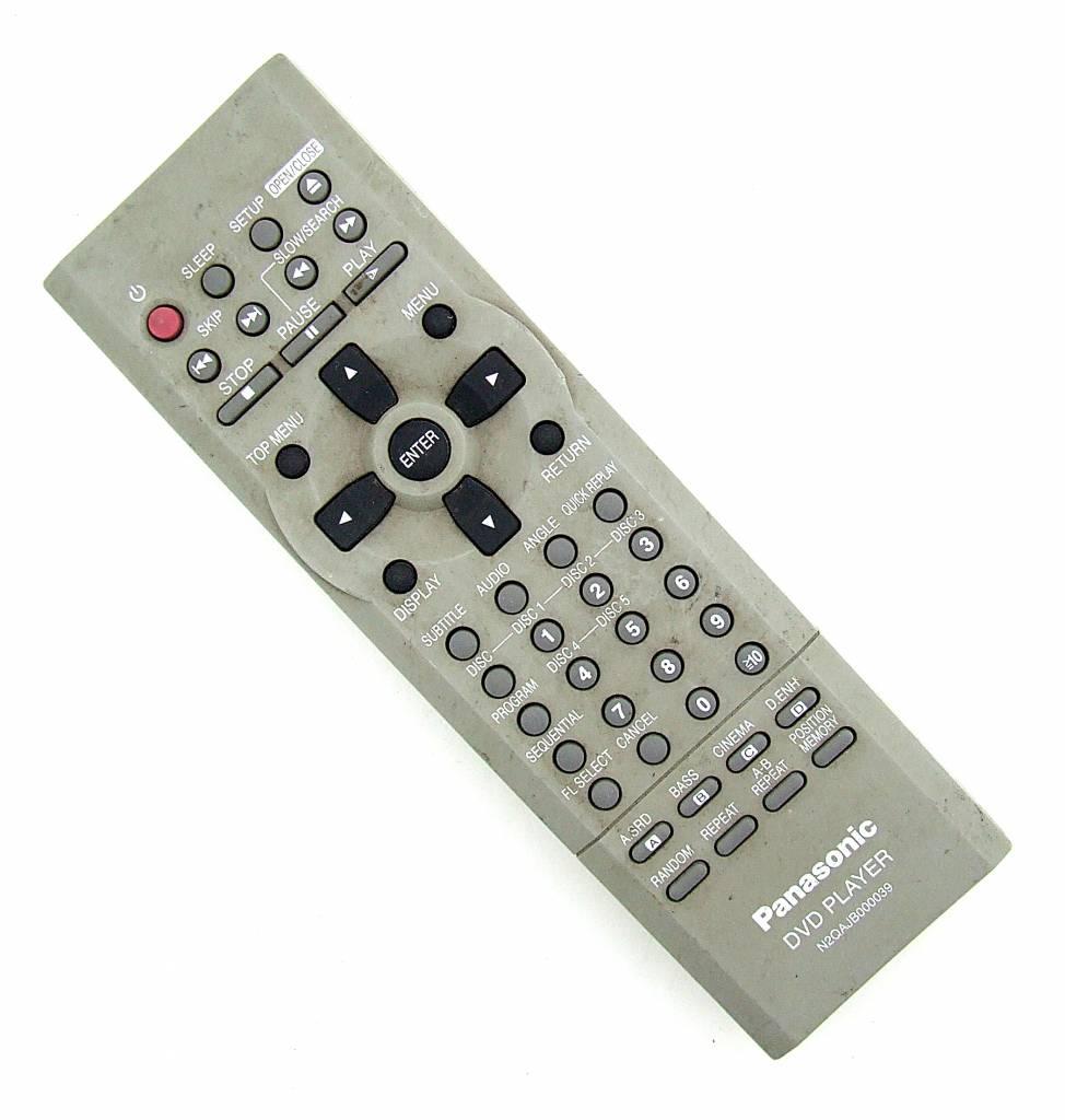 Panasonic Original Panasonic Fernbedienung N2QAJB000039 DVD Player remote control