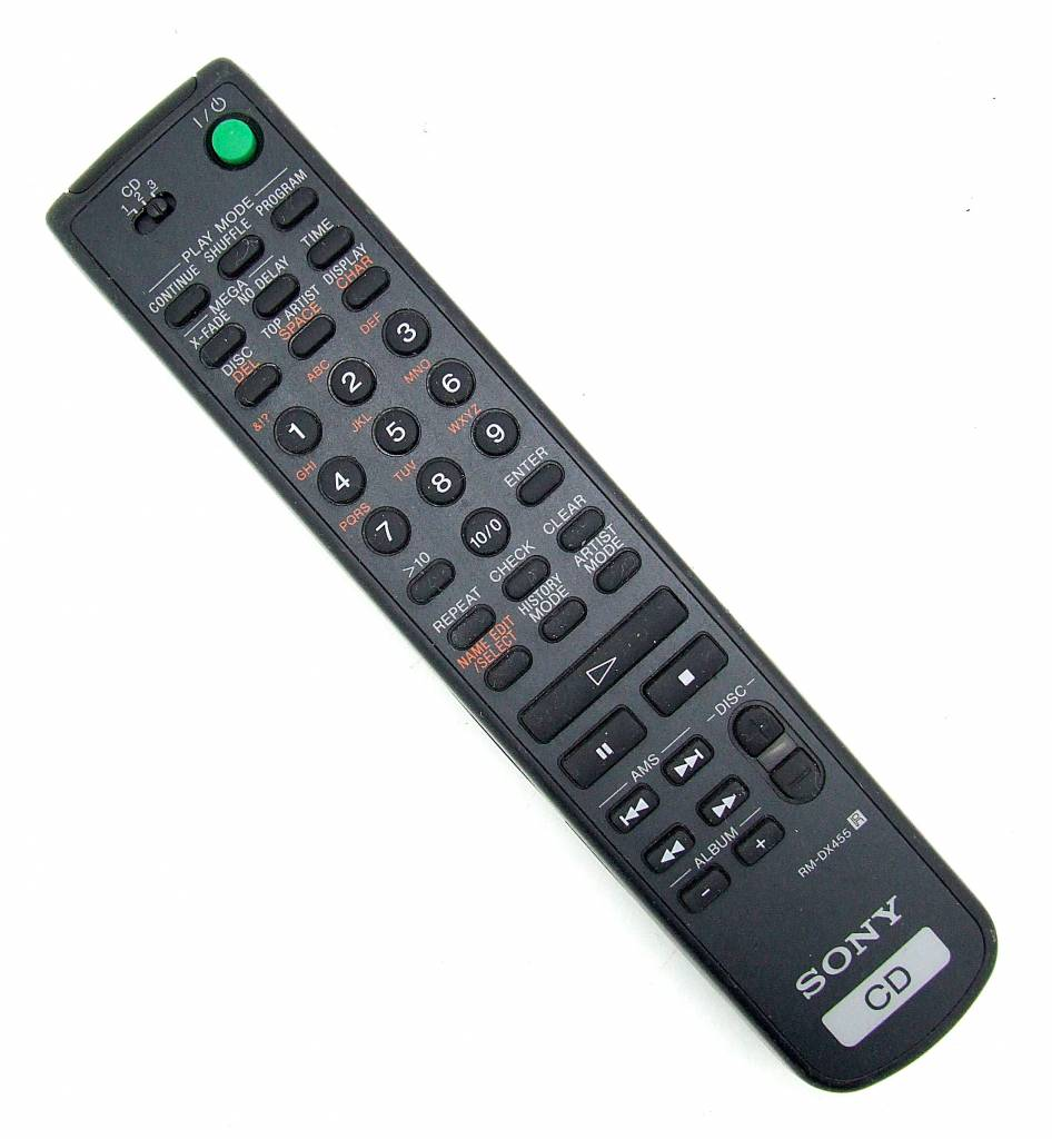 Sony Original Sony Fernbedienung RM-DX455 CD remote control