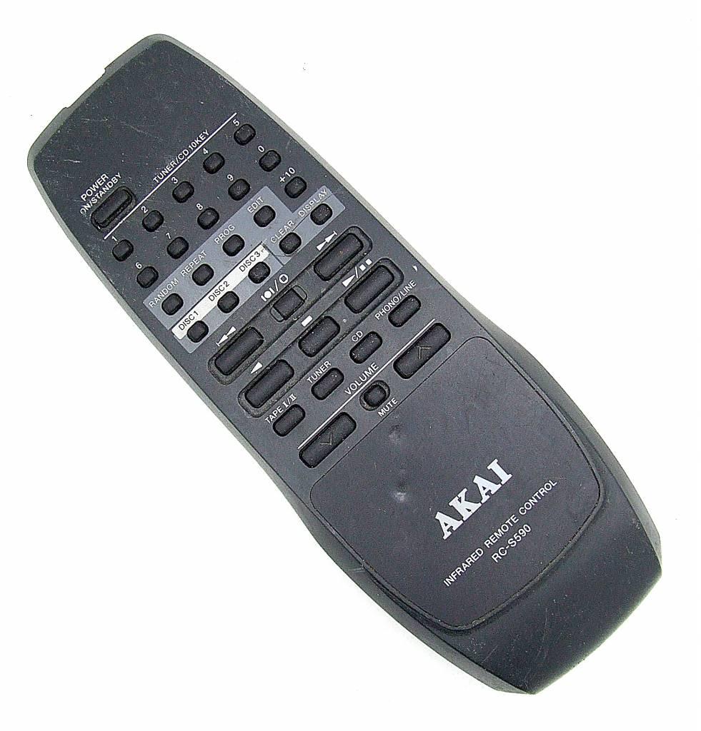 Akai Original AKAI remote control RC-S590 remote control