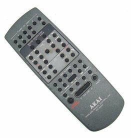 Akai Original Akai remote control RC-S630 Wireless remote control unit Tuner/CD 10KEY