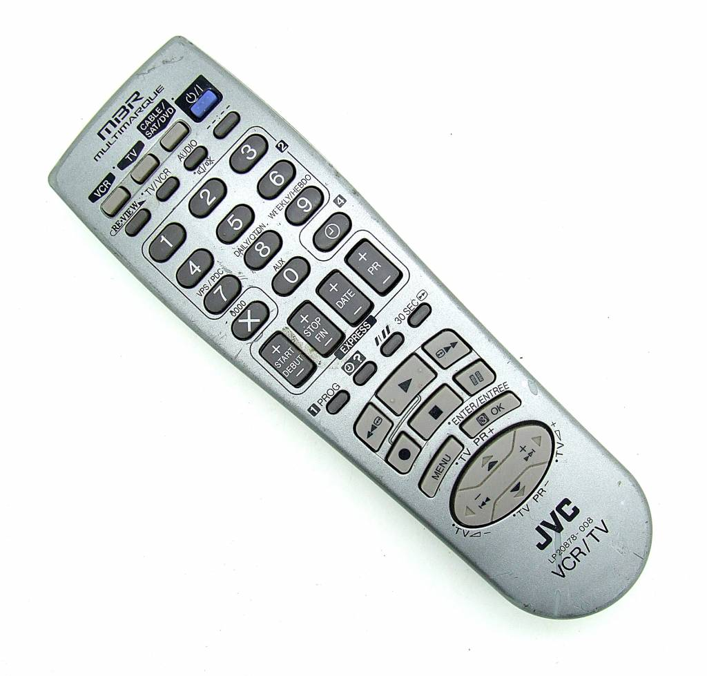 JVC Original JVC Fernbedienung LP20878-008 VCR/TV remote control