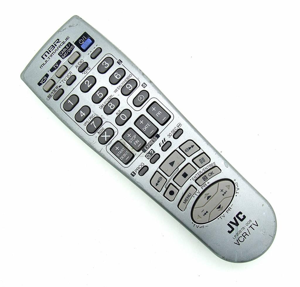 JVC Original JVC Fernbedienung LP20878-008 VCR/TV remote control