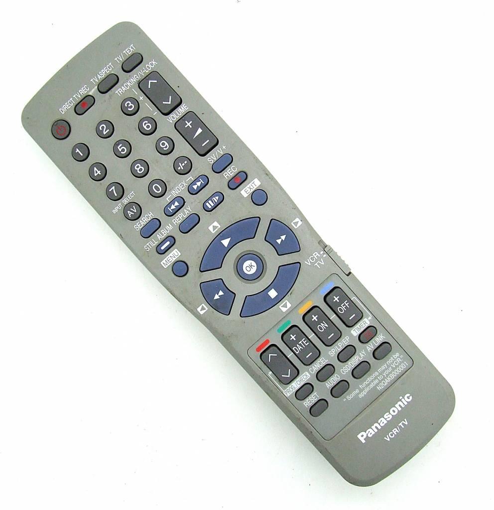 Panasonic Original Panasonic Fernbedienung N2QAKB000001 VCR/TV remotecontrol