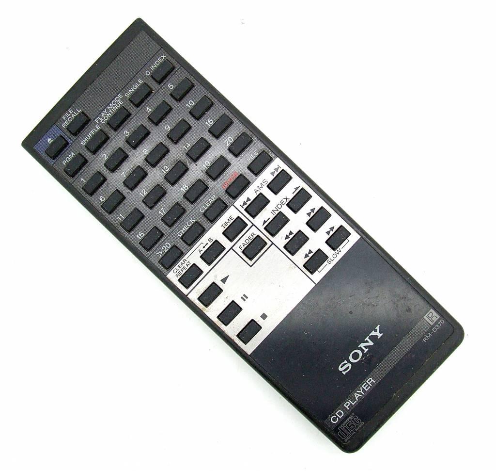 Sony Original Sony Fernbedienung RM-D370 CD Player remote control