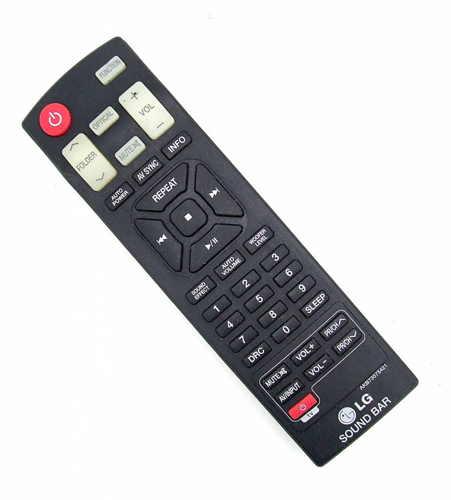 LG Original LG Fernbedienung AKB73575421 Sound Bar remote control