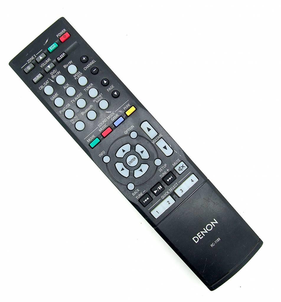 Denon Original Denon Fernbedienung RC-1189 remote control