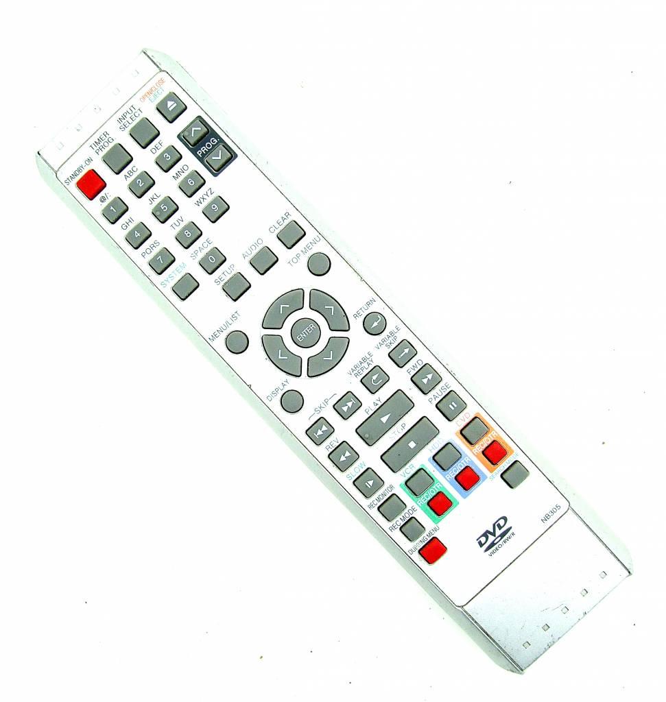 Original Funai remote control NB305 DVD remote control