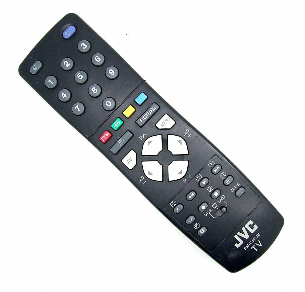 JVC Original JVC Fernbedienung RM-C1512B TV remote control