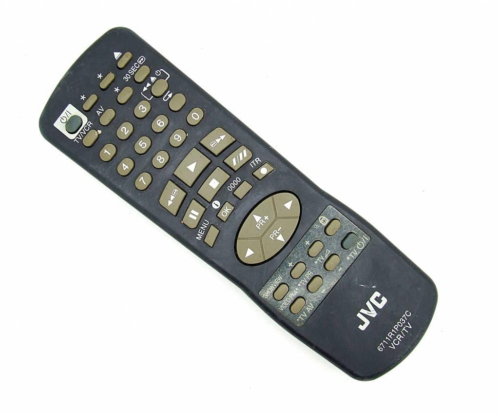 JVC Original JVC Fernbedienung 6711R1P037C VCR/TV remote control